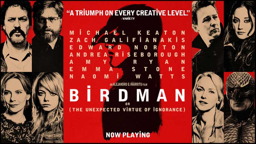 Birdman 2014 Academy Award-winning film