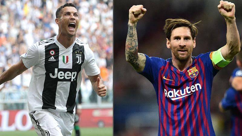 مسی و رونالدو در مقایسه باهم