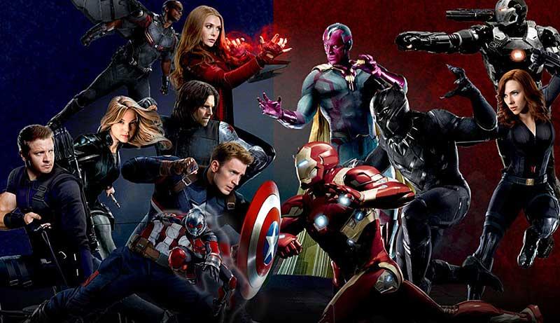 Captain America: Civil War کاپیتان آمریکایی