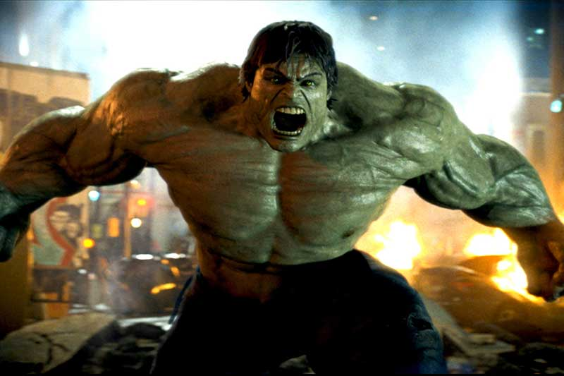 The Incredible Hulk  هالک