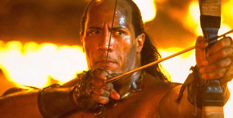 شاه عقرب - Scorpion King 2002 راک