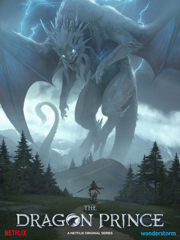 new poster from the dragon prince